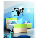 grossiste Stickers mureaux: Football  contrechamp Wall  Decal - 45 x 65 cm ...