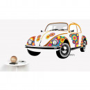 wholesale Wall Tattoos: VW BEETLE WALL TATTOO - FLOWERS