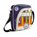 Großhandel Handtaschen: VW T1 BUS TABLET PC SCHULTERTASCHE HOCH - STREIFEN