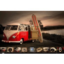 VW T1 BUS POSTER SURFBOARD - MAXI