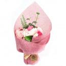 Stehender Seifenblumenstrauß - Rosa
