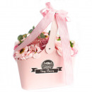 nagyker Drogéria és kozmetika: Rózsaszín szappan virágcsokor