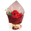 Kaufen Sie Standseifenblumenstrauß - Rot