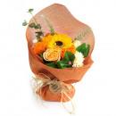Großhandel Duschen & Baden: Standing Soap Flower Bouque - Orange