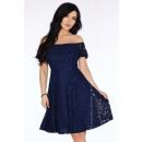 Großhandel Kleider: Spitzenkleid - Marineblau