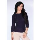 Großhandel Pullover & Sweatshirts: Blauer Marine-Pullover leicht ...