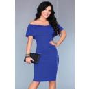 Großhandel Kleider:Spanisches Kleid - blau