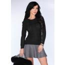 Großhandel Pullover & Sweatshirts: Ein schwarzer Pullover, der leicht ...
