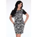 Großhandel Kleider: Kleid mit Taschen - Blumen