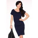 Großhandel Kleider: Sportliches Kleid mit einem Ausschnitt - ...