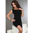 Großhandel Kleider: Eng anliegendes Kleid - schwarz