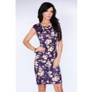 Großhandel Kleider: Eng anliegendes Kleid mit Blumen