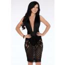Großhandel Kleider: Sinnliches Kleid - schwarz