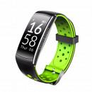nagyker Sport- és fitness gépek: Activity tracker lyukak zenével zöld