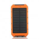 nagyker Ajándékok és papíráruk: Solar Powerbank 10000 mah narancssárga