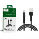 Metal cable from Lightnin to USB