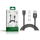 wholesale Computer & Telecommunications: MAGNETIC CABLE FOR 3 IN 1 CHARGING