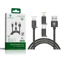 wholesale USB-Accessories:3 in 1 charging cable