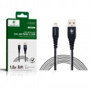 Lightning to USB metal cable
