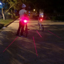 Großhandel Sport & Freizeit: Fahrrad Laser Range Lampe