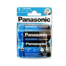Panasonic Zinc Coal R20 / Baby / BP2