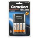 CAMELION Stecker - Ladegerät BC-1010B inkl. 4x Ni-