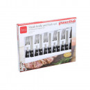 Löwenthal 12-piece steak knife set made of stainle