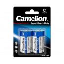 Camelion R14 / C / Bleu / BP2