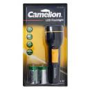 CAMELION FL1L2DR20P LED Taschenlampe gro? inkl. 2
