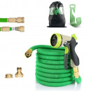 Ecolle premium garden hose with hand shower 30m