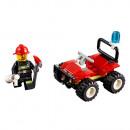 LEGO Miejski wózek strażacki, kask i gaśnica