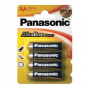 Panasonic Alkaline Power Batterijen LR6 Mignon BP4