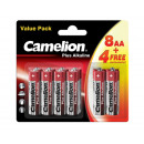 Camelion plus Alkaline LR6 / AA / BP12 (8 + 4 GRAT