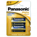 Panasonic Alkaline Power Batterijen LR14 Baby C BP