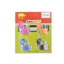 wholesale Ironmongery:Padlock 20mm 4pcs