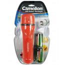 CAMELION PT1L2D-2R20PBP 1LED gummiertes Taschenlam