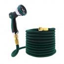 T24 Premium 15 m flexibele tuinslang, groen