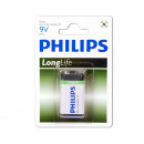 Philips Longlife 6F22 / 9-volt blok / BP1