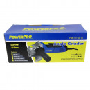Angle grinder with 550 watts and 115mm wheel size