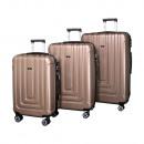 Valis® 3-delige kofferset, roze