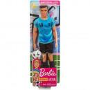 Ken futbolista lalka w mundurze