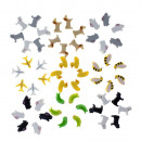 6 db Különböző állatmotívumokból álló tűzőkapcsok