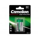 Camelion 6F22 / bloc 9 volts / vert / BP1