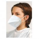 10x FFP2 antiviraal masker, gezichtsmasker Pa
