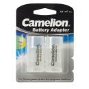 Camelion Adaptateur de batterie BA-C R14 / C plast