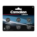 Camelion Lot de 6 piles bouton Lithium CR: 2x CR2
