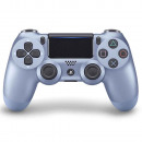 Sony PS 4 Wireless DS 4 V2, Titaniumblauw