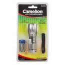 CAMELION CT4004 9LED Aluminium Taschenlampe inkl.