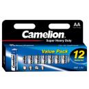 Camelion Blister écologique R6 / AA / bleu / HP12