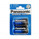 Panasonic Zinc Coal R14 / Baby / BP2